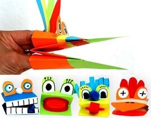 Описание: Una propuesta fácil y sencilla para hacer una marioneta con los más pequeños y aprovecharse de todos los beneficios que aportan las manualidades.